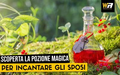 BREAKING NEWS:  SCOPERTA LA POZIONE MAGICA PER INCANTARE GLI SPOSI