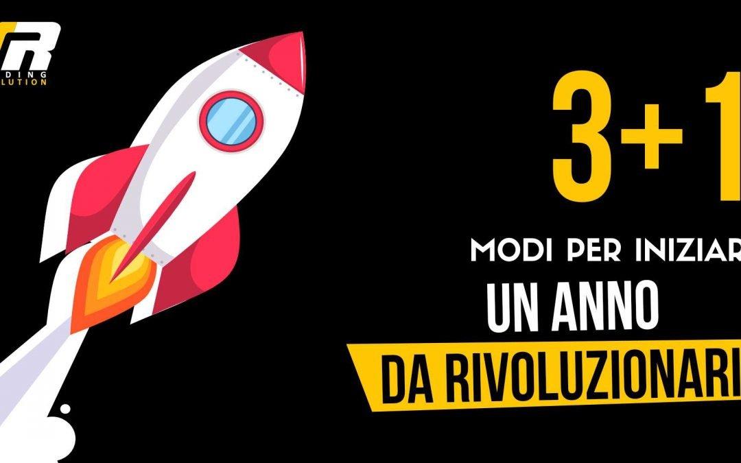 3 MODI + 1 per iniziare un anno da rivoluzionari!