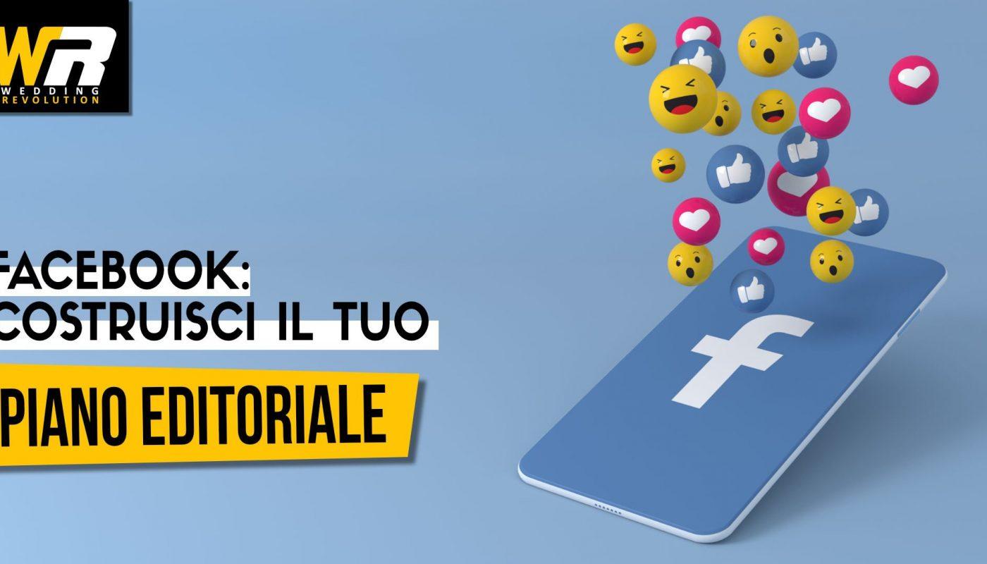 facebook- scostruisci il tuo piano editoriale wedding revolution